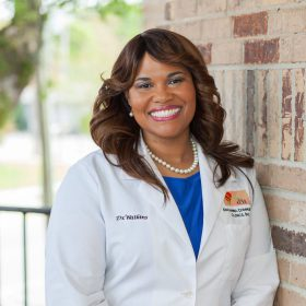 Portrait of Chief Dental Officer, Dr. Jacinta Watkins