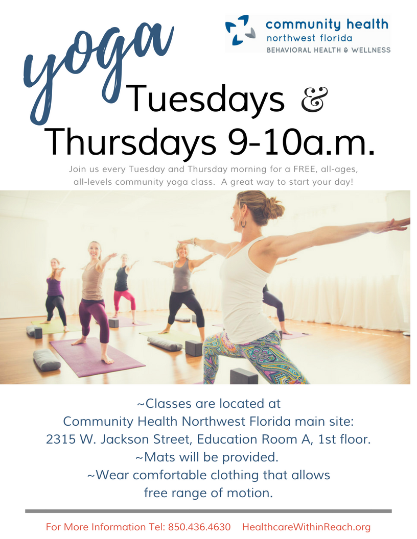 Yoga Flyer revised png - FREE Yoga Classes!