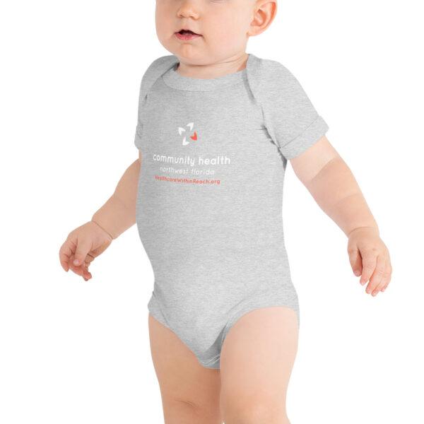 baby short sleeve one piece athletic heather 5fce5dacc50b7 600x600 - Baby Onesie