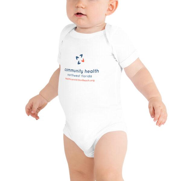 baby short sleeve one piece white 5fce5d2cf2b15 600x600 - Baby Onesie