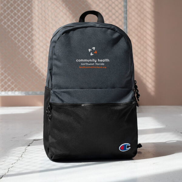 champion backpack heather black black 5fca6a8a54d04 600x600 - Embroidered Champion Backpack