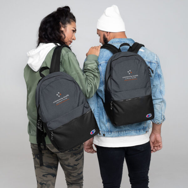 champion backpack heather black black 5fca6a8a54d36 600x600 - Embroidered Champion Backpack