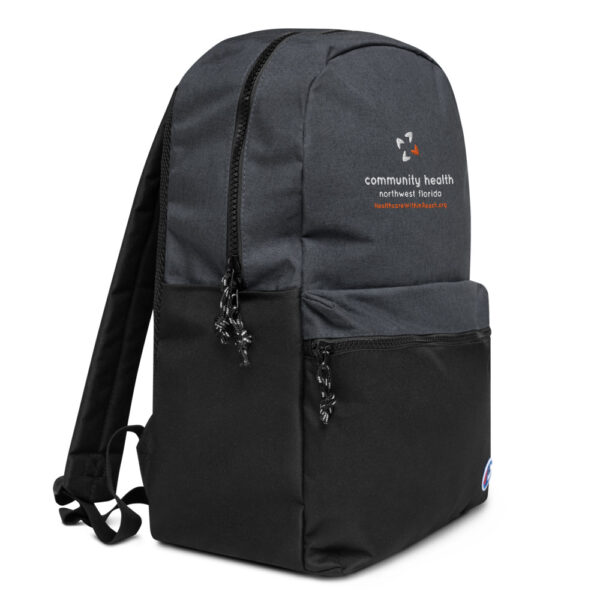 champion backpack heather black black 5fca6a8a54dd1 600x600 - Embroidered Champion Backpack