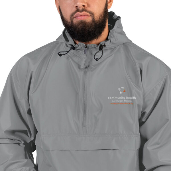 embroidered champion packable jacket graphite 5fca7fed82615 600x600 - Embroidered Champion Packable Jacket