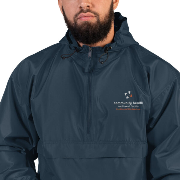 embroidered champion packable jacket navy 5fca7fed82371 600x600 - Embroidered Champion Packable Jacket