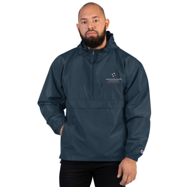 embroidered champion packable jacket navy 5fca7fed825a5 600x600 - Embroidered Champion Packable Jacket