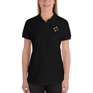 premium polo shirt black 5fd278a954606 300x300 - Embroidered Women's Polo Shirt