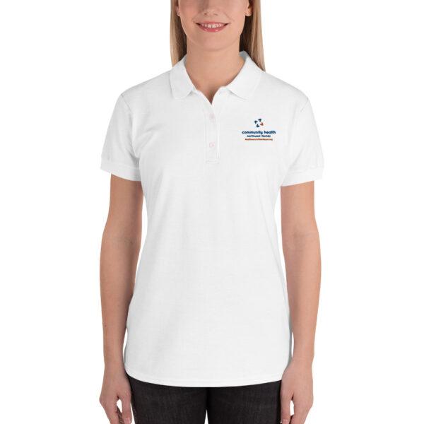 premium polo shirt white 5fd277aa6696f 600x600 - Embroidered Women's Polo Shirt