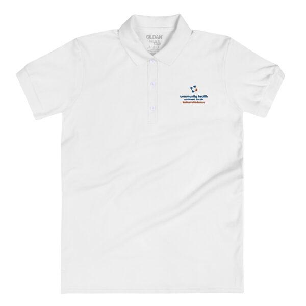 premium polo shirt white 5fd277aa66a82 600x600 - Embroidered Women's Polo Shirt