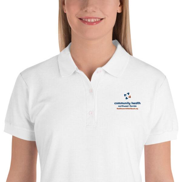 premium polo shirt white 5fd277aa66ae4 600x600 - Embroidered Women's Polo Shirt